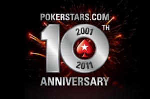 PokerStars tiende verjaardag