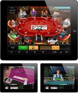 PKR 3D POKER for iPad